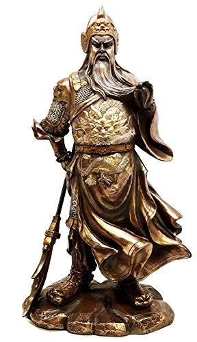 Gifts & Decor Warlord Hero Guan Gong Guan Yu Sculpture Romance of the Three Kingdoms Liu Bei Civil War Sculpture