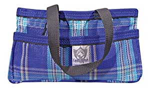 Kensington KPP Show Tote, Blue Ice Plaid, One Size