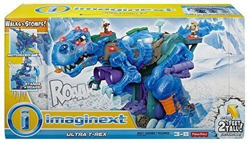 Fisher-Price Imaginext Ultra T-Rex Sound Effects TOY .HN#GG_634T6344 G134548TY58108 by Anajosily