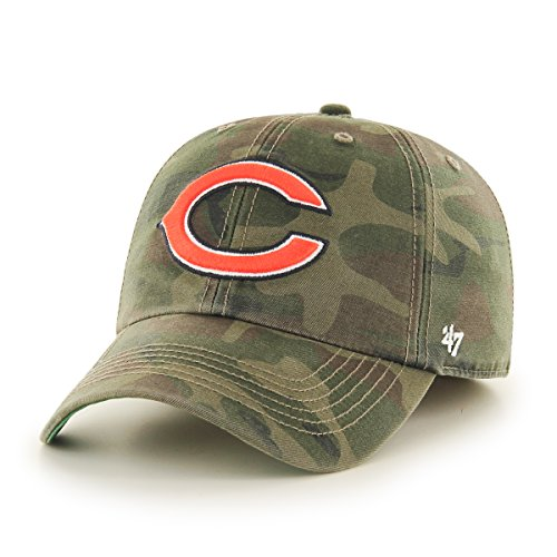 '47 NFL Chicago Bears Harlan Franchise Fitted Hat, X-Large, Sandalwood (Franchise Cap)