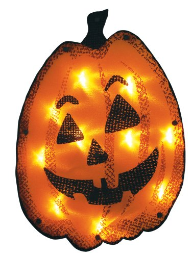 Impact Innovations Halloween Shimmer Lighted Window Decoration, -