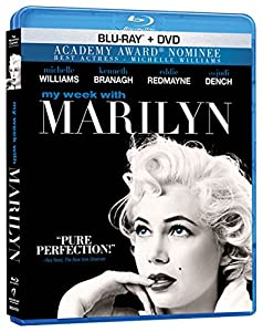 Cover Image for 'My Week With Marilyn (Blu-ray + DVD Combo)'