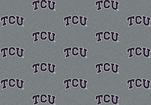 Texas Christian Horned Frogs NCAA Milliken Team Repeat Area Rug (5'4'' x 7'8'') by Milliken