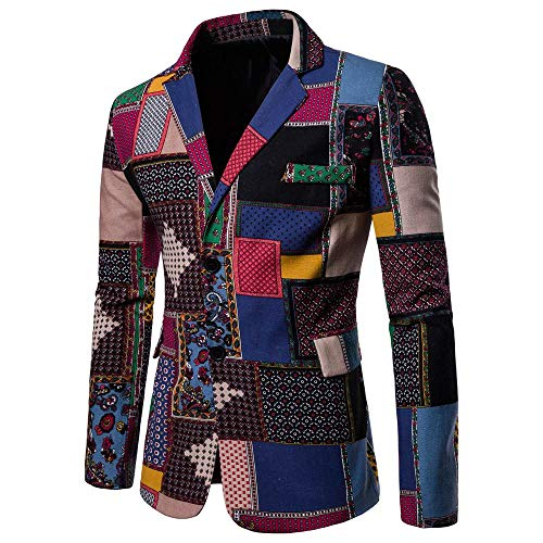 Deelin Deelin Blazer Uomo Deelin Multicolore Blazer Blazer Multicolore Uomo Multicolore Uomo AqIZg
