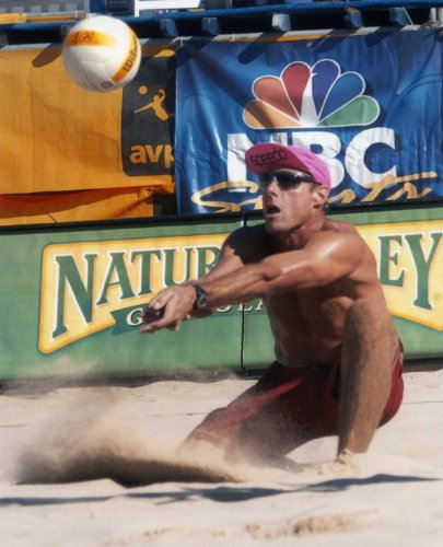 KARCH KIRALY USA OLYMPIC VOLLEYBALL 8X10 SPORTS ACTION PHOTO (Karch Kiraly Volleyball)