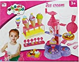Sterling Toy ice cream machine sweet candy making games wheat mud clay for kids