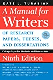 A Manual for Writers of Research