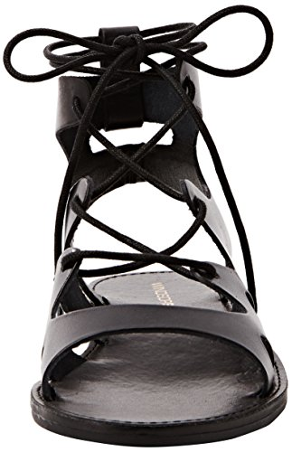 Windsor Smith Baby Leather, Women's Ankle-Strapped Sandals Black
