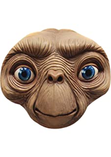 image relating to Et Mask Printable referred to as E.T Encounter MASK: .united kingdom: Toys Game titles