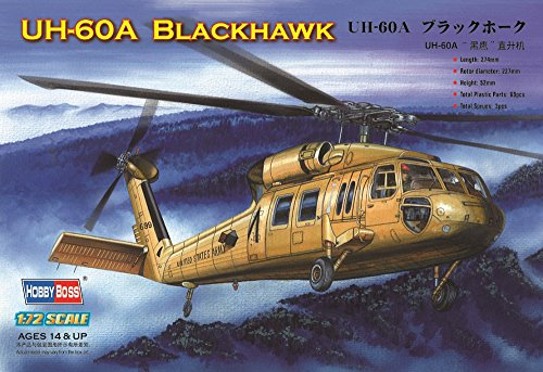(Hobby Boss UH-60 Blackhawk Helicopter Model Building Kit)
