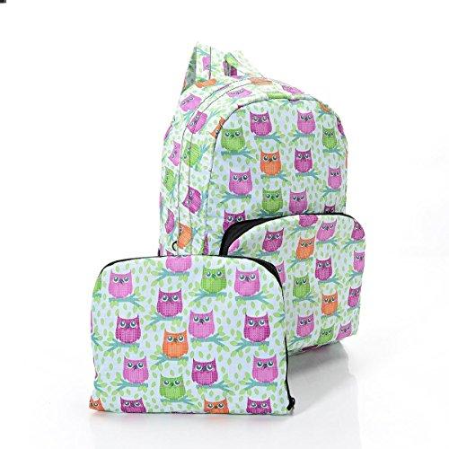 Eco Chic - Bolso mochila  para mujer azul azul Hand luggage