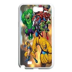 Samsung Galaxy Note 2 N7100 Phone Case Lego Marvel Super Heroes GP4401