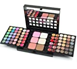 Frola Cosmetics Pro 78 Colors Makeup Palette Sets Combo 48 Eyeshadow 18 Lipgloss 6 Concealer 3 Blush 3 Highlighters and Bronzers