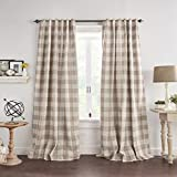 Best goodgram home beige blackout curtains To Buy In