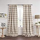 Best goodgram home beige blackout curtains To Buy In