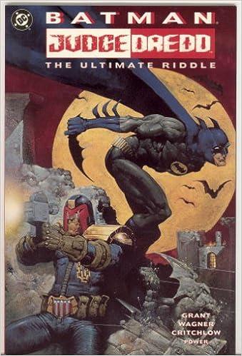 Amazon.com  Batman - Judge Dredd  The Ultimate Riddle (9781563892066)  Alan  Grant 711f24f9641