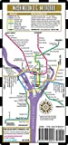 Streetwise Washington DC Metro Map - Laminated Metro Map of Washington, DC (Michelin Streetwise Maps)