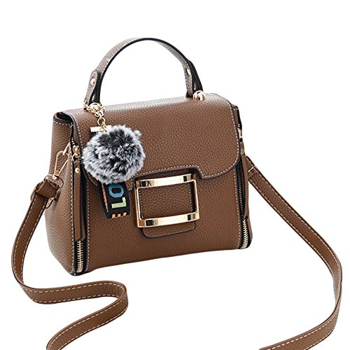 Mini Fashion Small Handbags Girls Messenger Gifts PU Brown Womens Shoulder Women's Totes For Purse Summer nq50gdgwCx