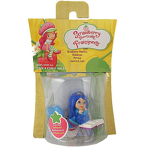 Strawberry Shortcake Hasbro Basic Figure Blueberry - Shortcake Figure Strawberry Basic