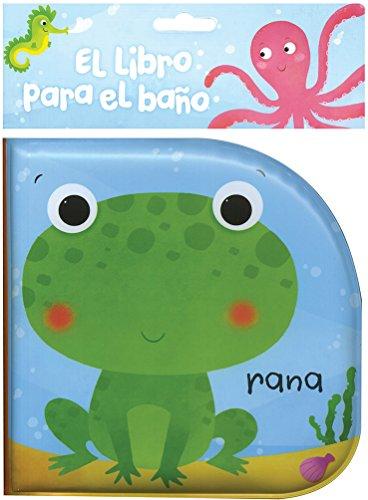 Libro de bebe para el baño. Rana