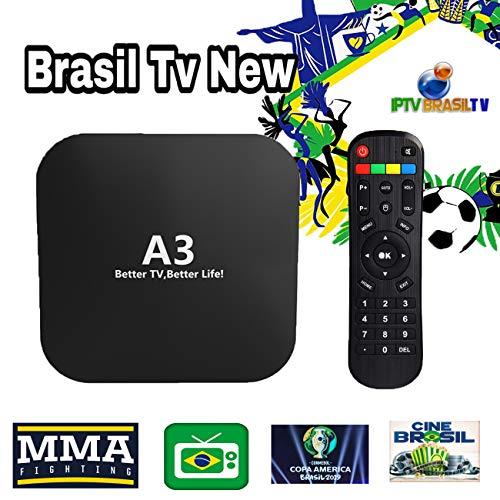 Brazil TV Box A3 IPTV Brazilian Based on A2 HTV5 6 Plus Better Than IPTV 8 2019 Brasil Canasis TV, Brazilian Live Channels Filmes Movies