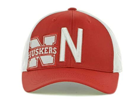 timeless design 15c5b a352c Top of the World Mens NCAA Trapped Baseball Cap One Size Fits Most Nebraska