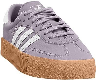 adidas Womens AQU90 Sambarose Purple Size: 5.5