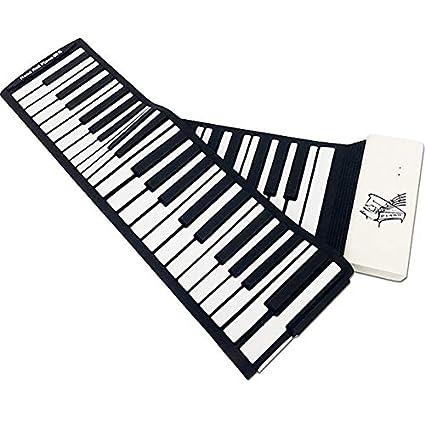 Hand Roll Piano, 88 Teclado Engrosamiento Versión profesional ...