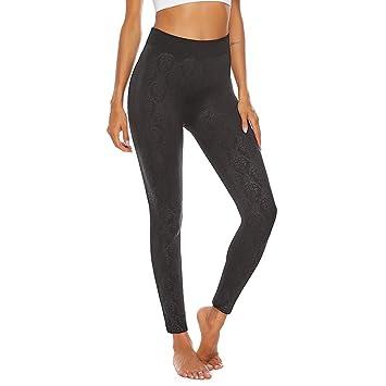 LeeMon - Polainas de Cintura Alta para Mujer, Pantalones de ...