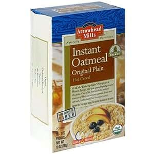Amazon.com: Arrowhead Mills Organic Instant Oatmeal