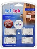 Rev-A-Shelf - TL-13401-R - Tot-Lock Cabinet Security 4 Lock and Single Key Assembly