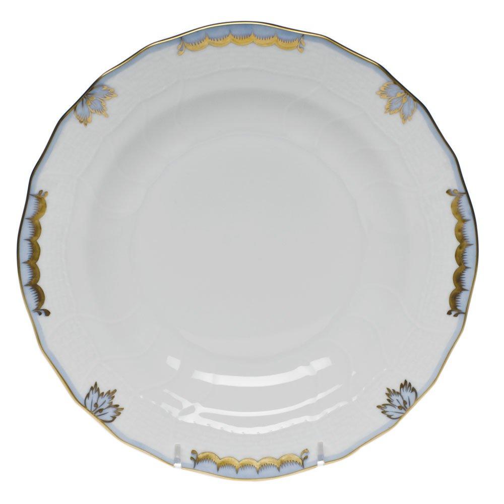 Herend China Princess Victoria Light Blue Dessert Plate