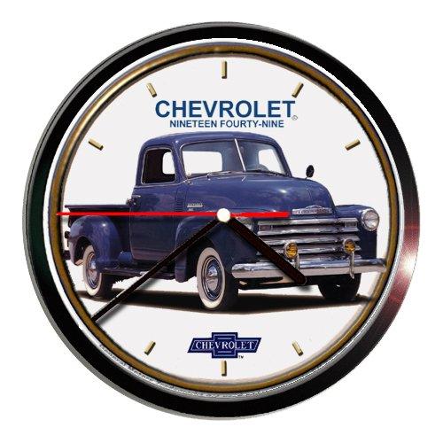 (1949 Chevrolet Chevy Pickup Truck Wall clock E002blu)