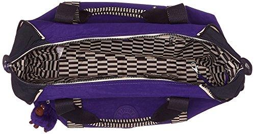 Kipling Summer Sac Purp M Black Noir Mix Art cm Dazz liters 58 26 Noir Violet de plage w1rZwAWq6
