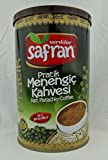Safran Traditional Coffee Series (Turkish) (Menengic (Pistachio) Coffee Ground 8.8 Oz can, Single Pack)