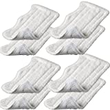 JUMBO FILTER 8pcs Replacement Microfiber Pads for Euro Pro Shark Steam Mop S3101W, S3250, S3250W, S3250CW, S3251N, S3101POD, SP100Q, S3251, SE200, S3251WC