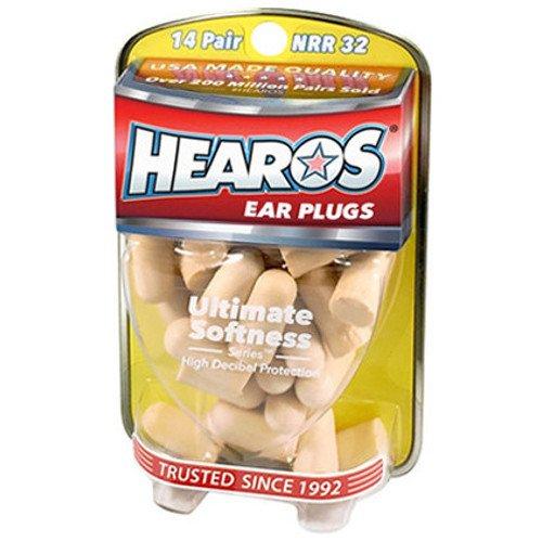 Hearos Ultimate Softness Series Ear Plugs, 14 Pair