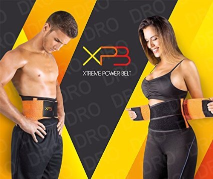 ce13ca21170 Amazon.com   Xtreme Power Belt (SMALL) Fitness Body Shaper Orange Miss  Waist Trainer   Everything Else