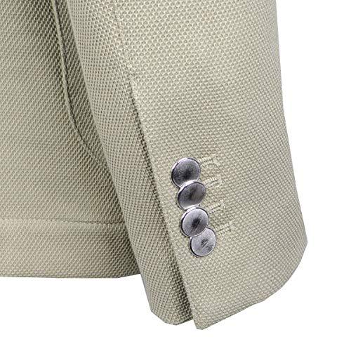 Textured Producenci Brooksfield Cotton 50 Inni Blouson 20712023 Blazer P6Fwtatq