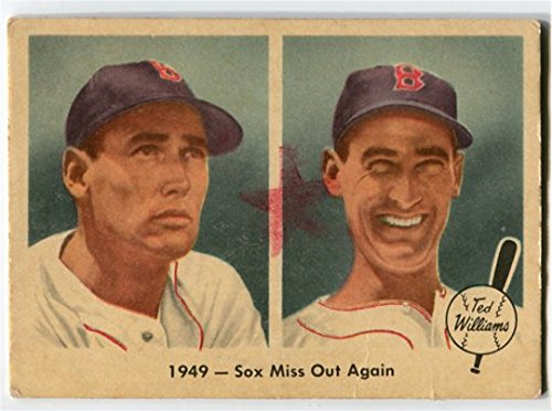Fleer 1959 Ted Williams 1949 Sox Miss Out Again Card #37 Boston Red Sox