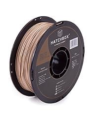 HATCHBOX 3D WOOD-1KG1.75 3D Printer Filament, Dimensional Acc...