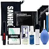 SANHOOII Camera Cleaning Kit for Sensitive Electronics and DSLR Cameras Sensor Cleaning and Lens Cleaning for Canon/Nikon/Pentax with Carry Bag