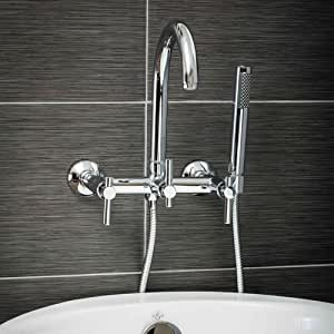 Luxury Clawfoot Tub or Freestanding Tub Filler Faucet