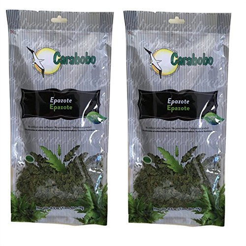 - Mexican Epazote 100% Natural 0.5 Oz Each Bag Pack of 2
