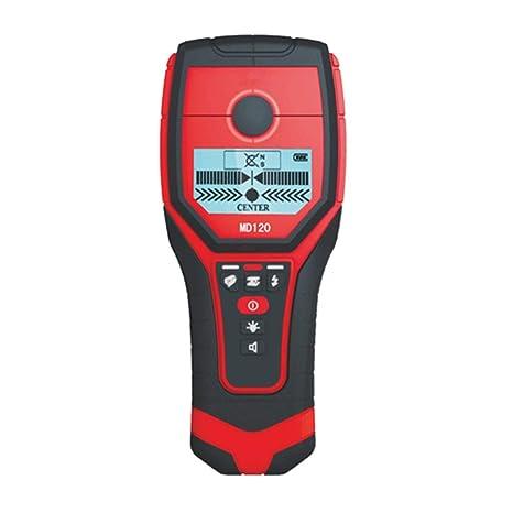 Footprintse detector de metales pared;detector de metales para tuberias en pared Digital Mini 3 en 1 Detector de alambre vivo de metal de madera Probador de ...