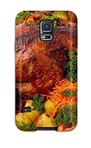 New Food Chicken Tpu Case Cover, Anti-scratch HhjkPdi3664EKoOY Phone Case For Galaxy S5