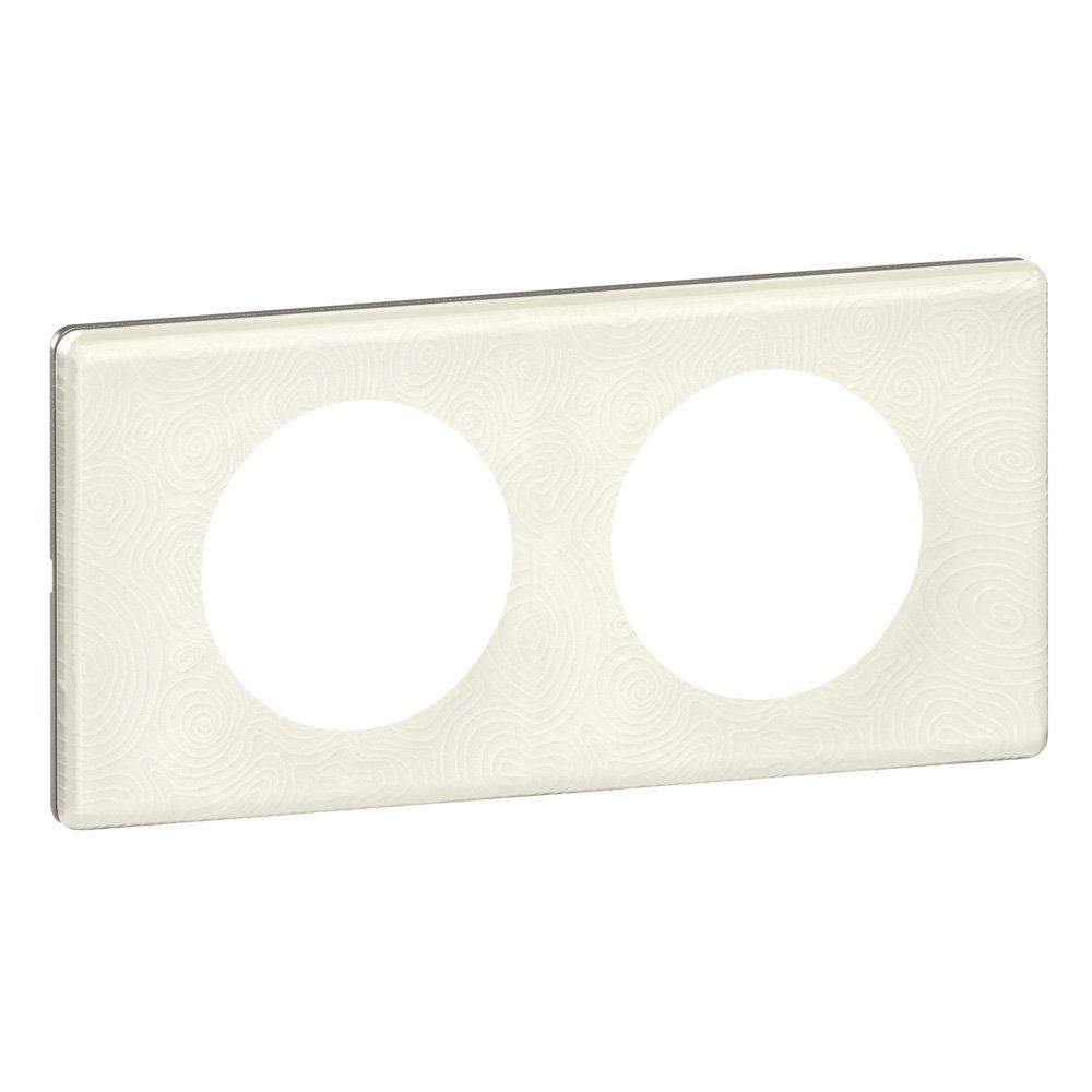 Legrand - LEG69351 - Cé liane Plaque avec 1 Poste - Porcelaine Songe Appareillage celiane