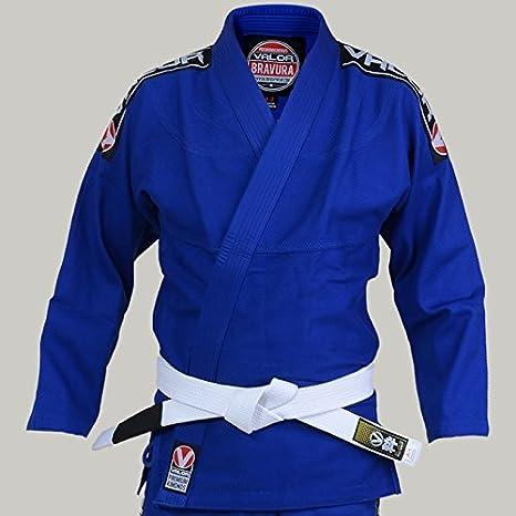 Valor Bravura BJJ GI BlueFREE White Belt