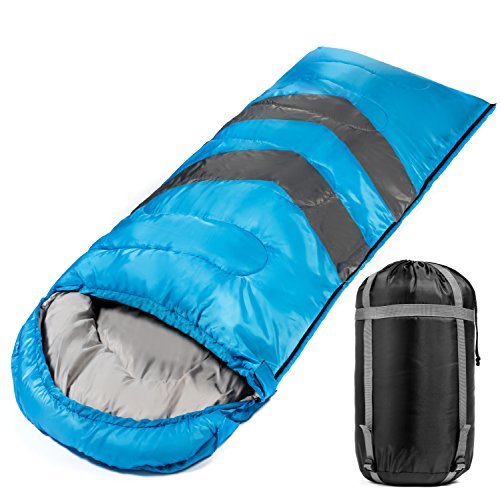 Large Sleeping Bag For Warm And Cold Weather 4 Seasons Comfortable At 32-60 Degrees Lightweight Waterproof Envelope Sleeping Bag For Camping Hiking Traveling Extra Large Wide For An Adult Male