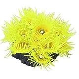 SODIAL(R) Aquarium Artificial Coral Fish Tank Decoration - Yellow